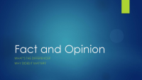 Fact and Opinion Presentation (PDF)