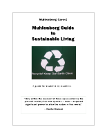 Muhlenberg Guide to Sustainable Living
