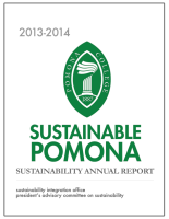 Pomona Sustainability Annual Report 2013-2014