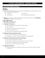 Scientific Article Summary Handout